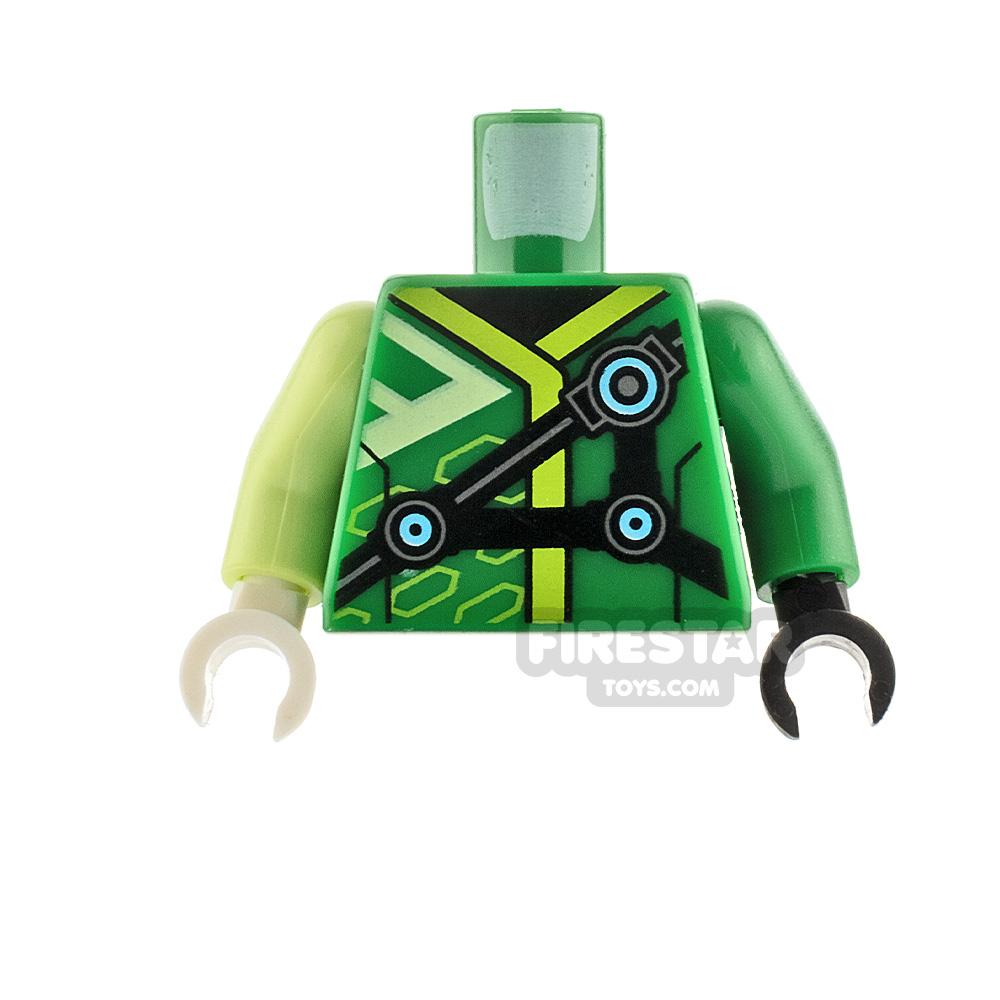 LEGO Minifigure Torso Straps With Circle Patterns