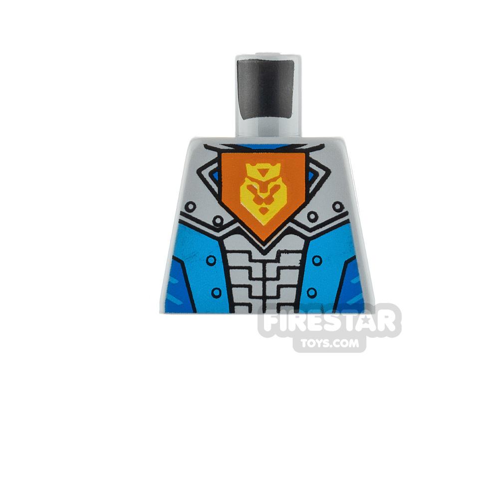 LEGO Minifigure Torso Knights Armour Lion Symbol