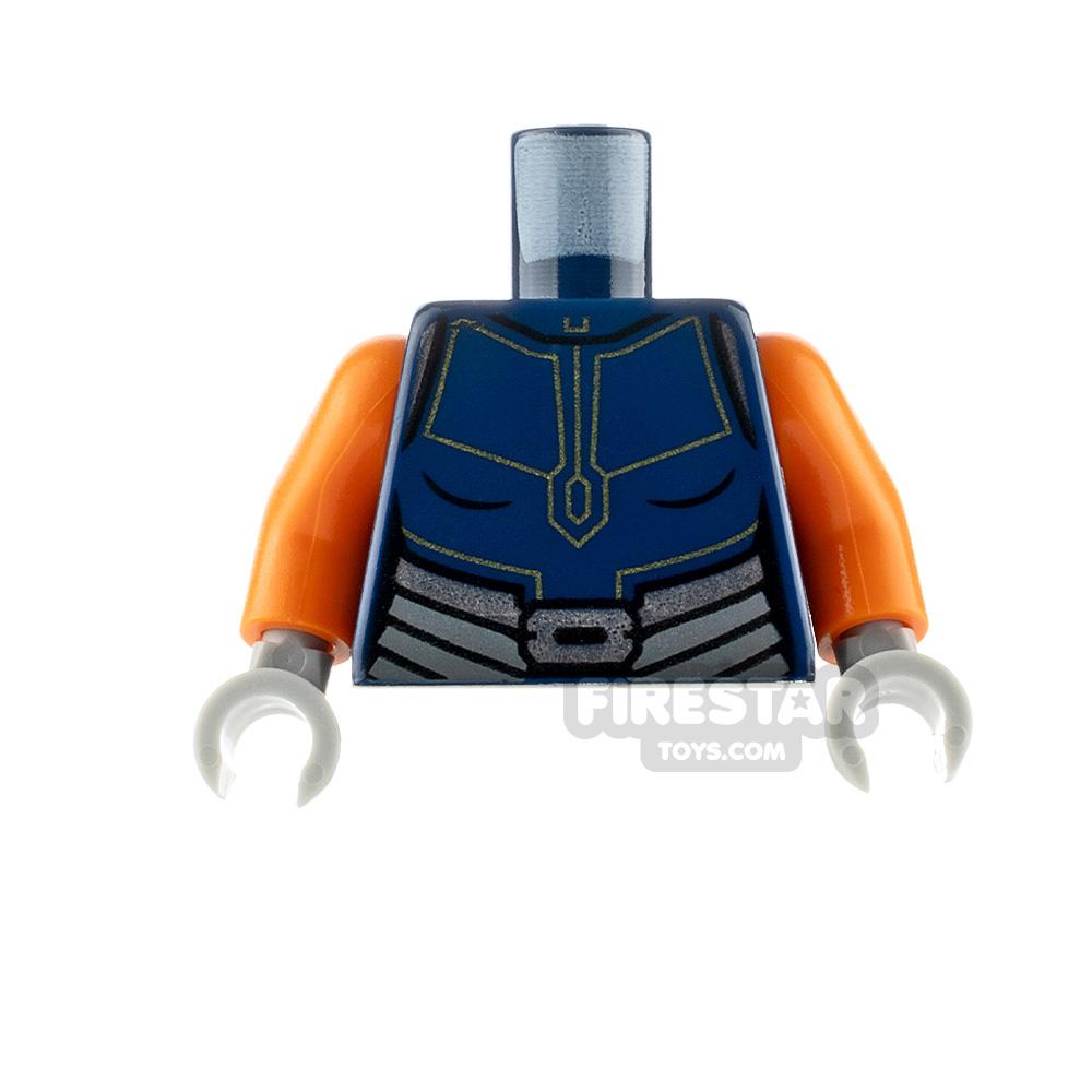 LEGO Minifigure Torso SW Ahsoka Tano Dark Blue Suit