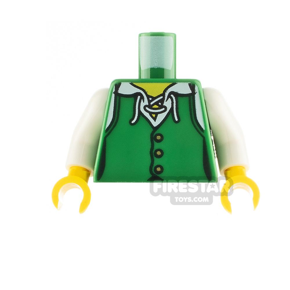LEGO Minifigure Torso Buttoned Shirt