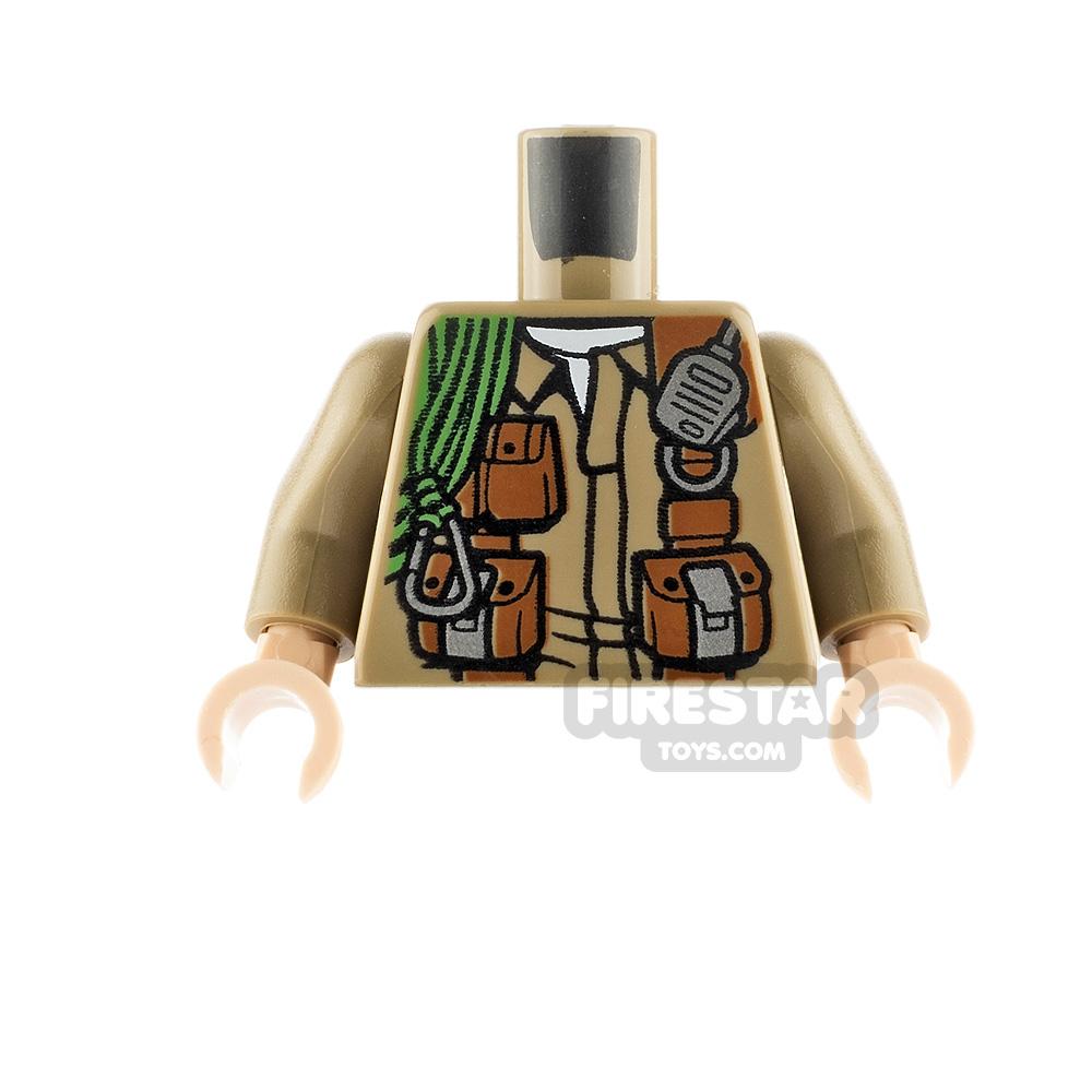 LEGO Minifigure Torso Jacket with Pouches