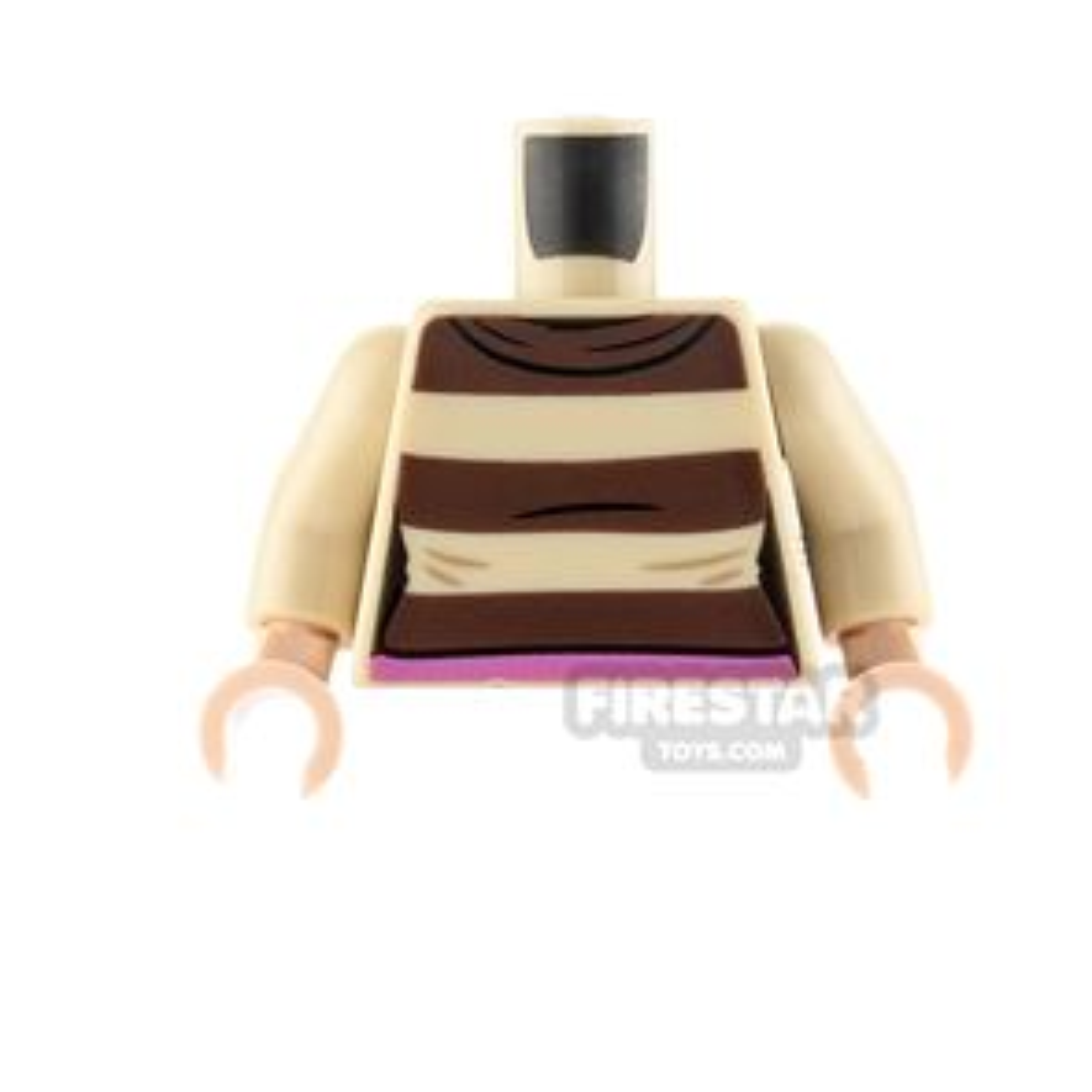 LEGO Minifigure Torso Striped Jumper
