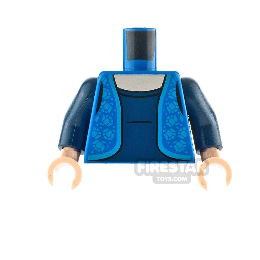 LEGO Minifigure Torso Dress with Vest