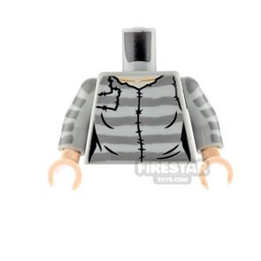LEGO Minifigure Torso Prison Stripes