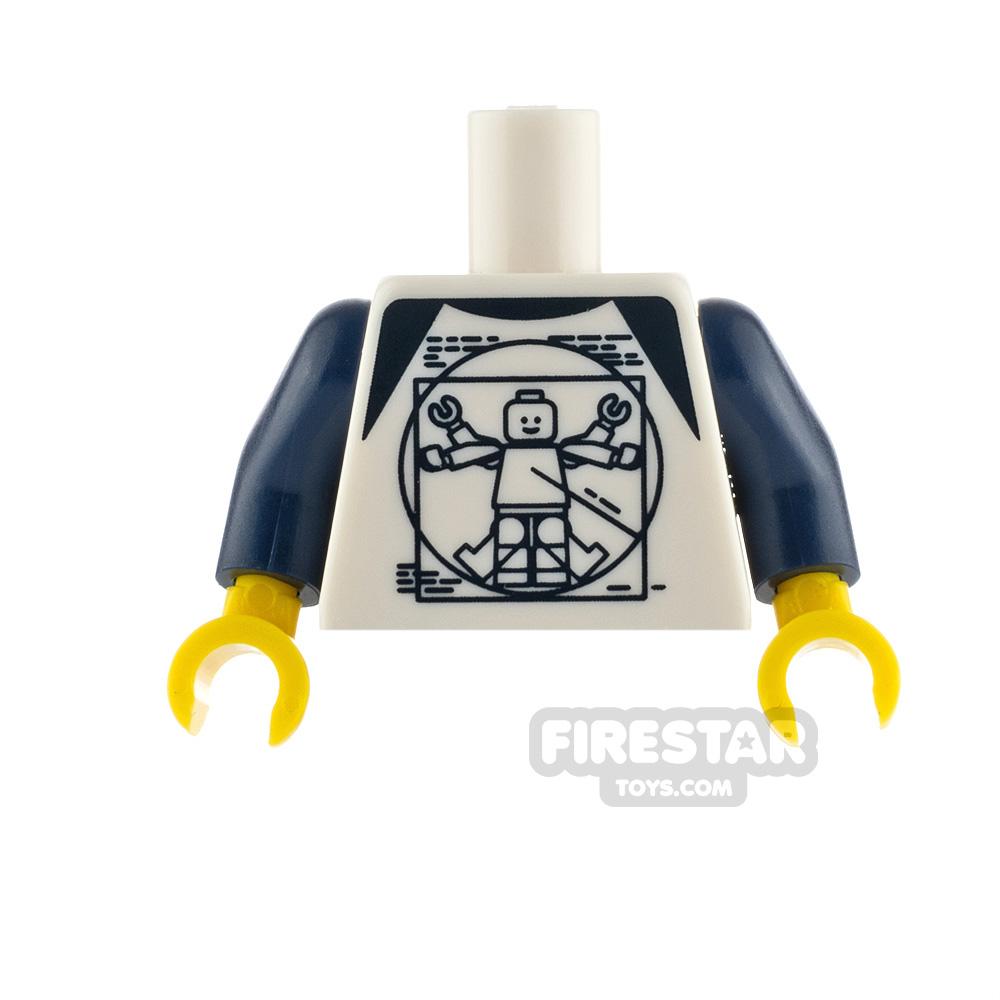 LEGO Minifigure Torso Vitruvian Minifigure