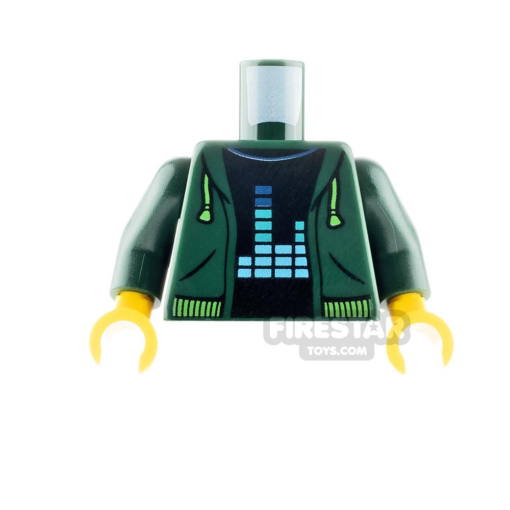 LEGO Minifigure Torso Hoodie and Equalizer Bars