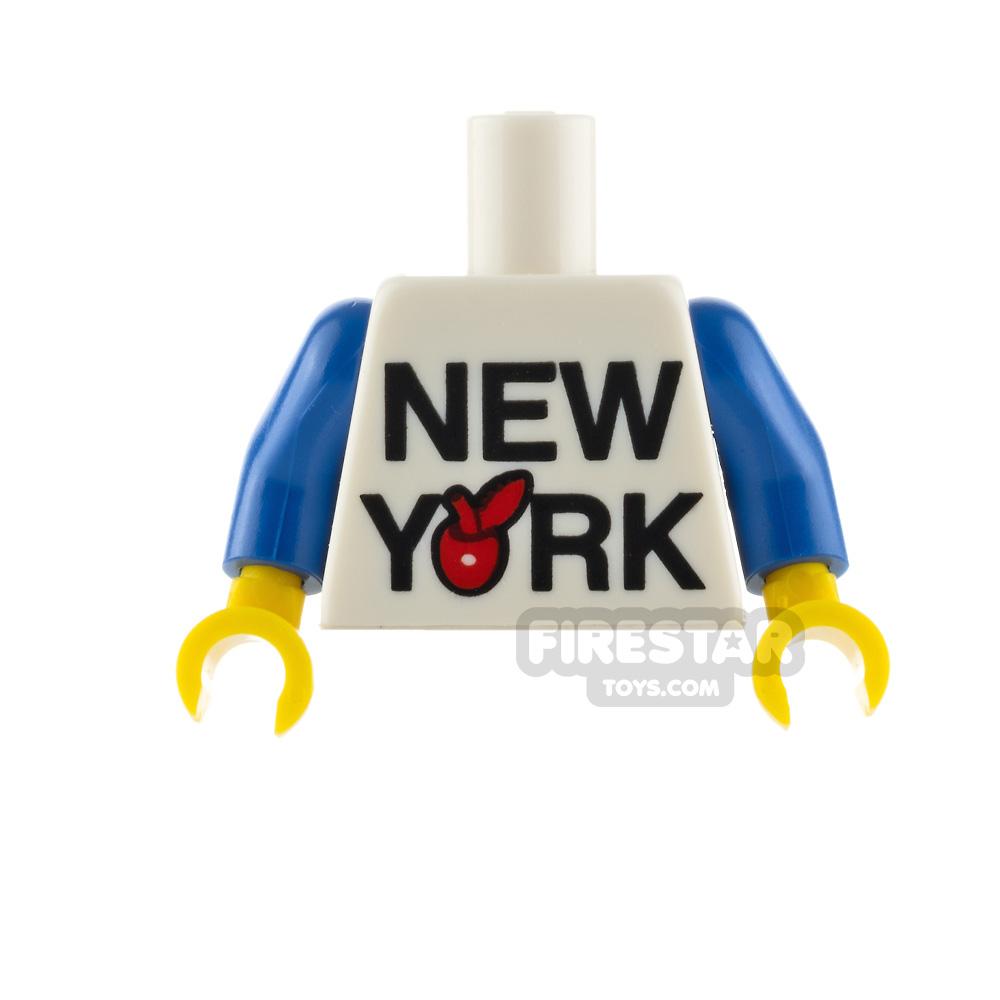 LEGO Minifigure Torso The Big Apple