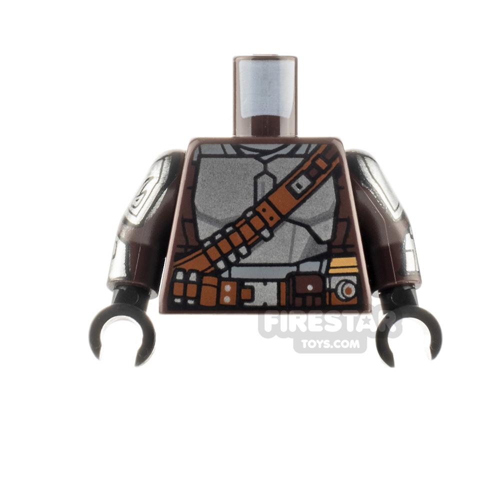 LEGO Minifigure Torso The Mandalorian Beskar Armour