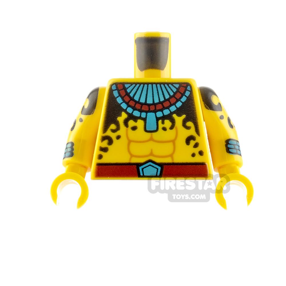 LEGO Minifigure Torso Aztec Warrior