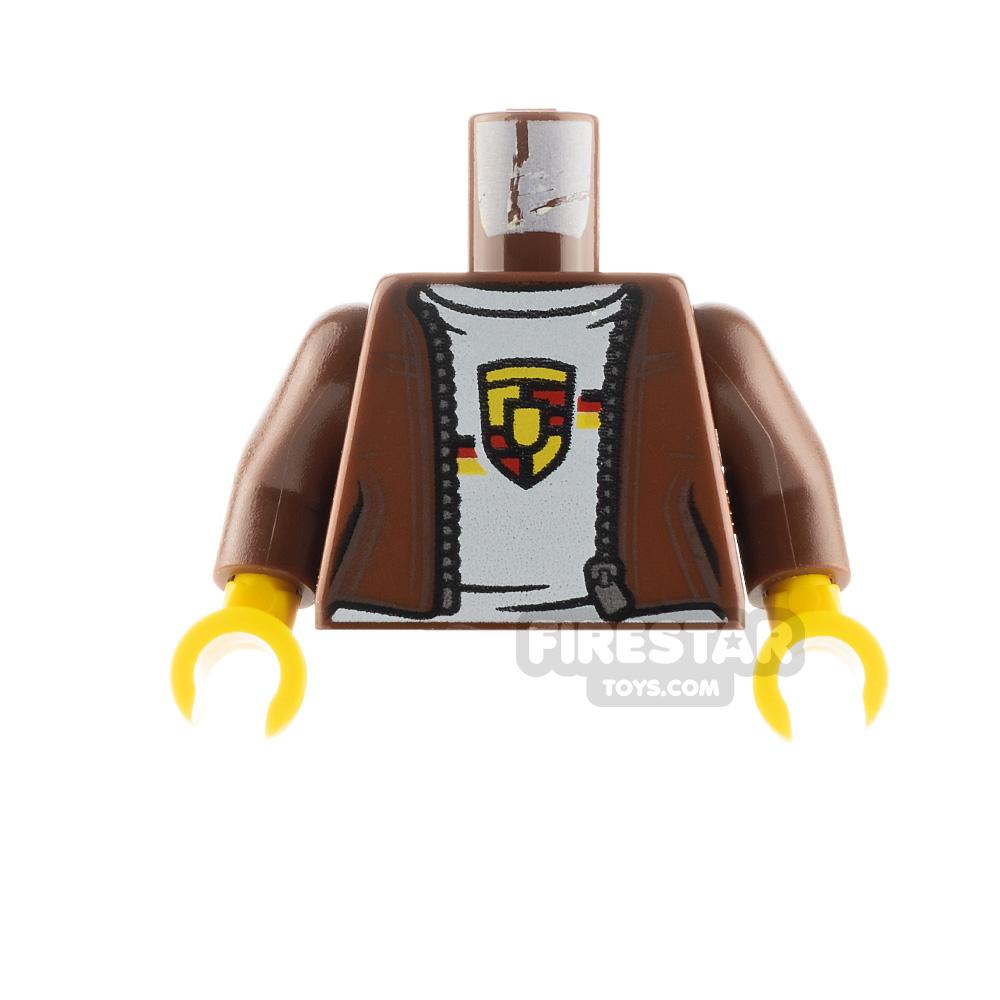 LEGO Minifigure Torso Jacket with Porsche Logo