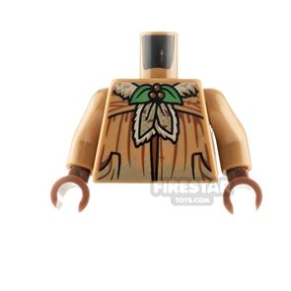 LEGO Minifigure Torso Jacket with Plants