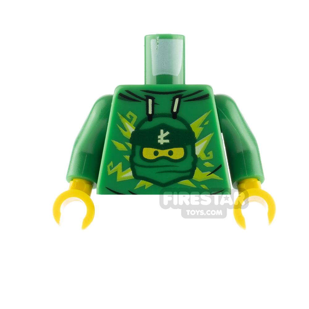 LEGO Minfigure Torso Ninjago Lloyd Hoodie