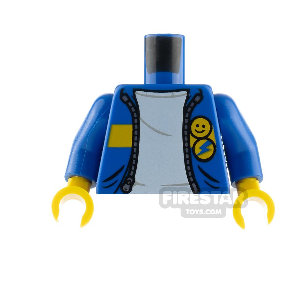 LEGO Minfigure Torso Jacket with Badges