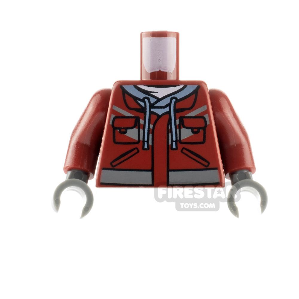 LEGO Minfigure Torso Hooded Sweatshirt