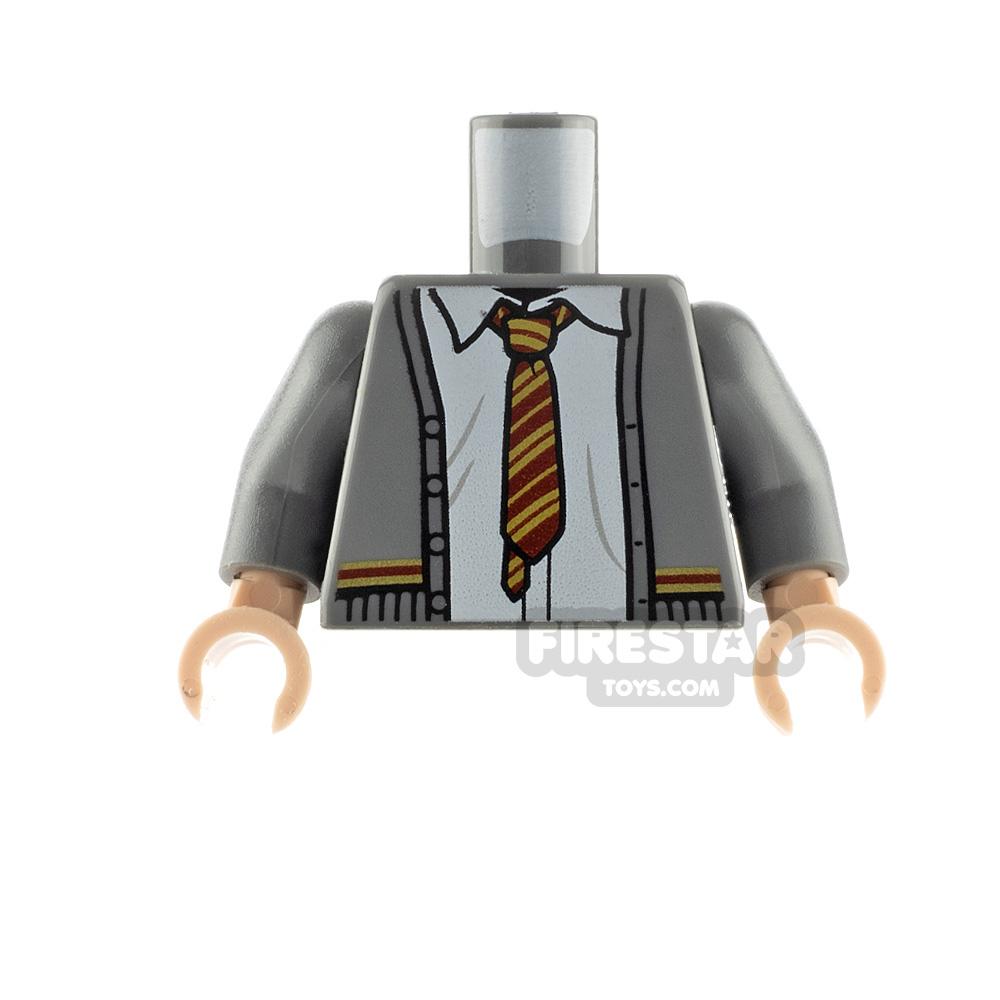 LEGO Minfigure Torso Gryffindor Cardigan