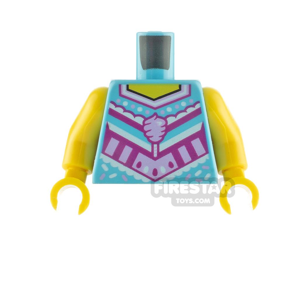 LEGO Minifigure Torso Cotton Candy Cheerleader