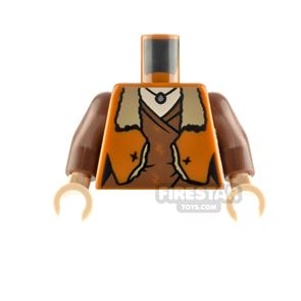 LEGO Minifigure Torso Jacket with Fur