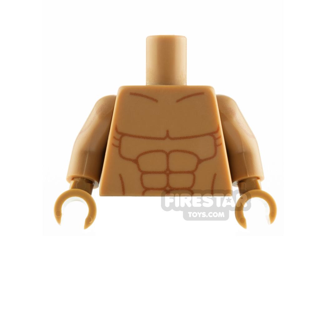 Custom Design Torso Muscles
