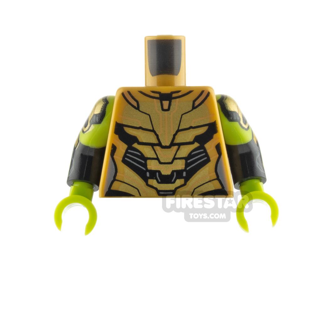 LEGO Minifigure Torso Gamora