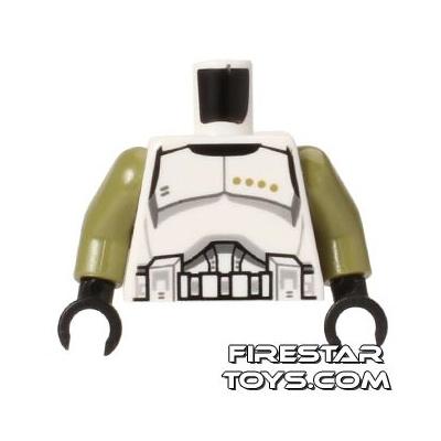 LEGO Mini Figure Torso - Clone Trooper Sergeant