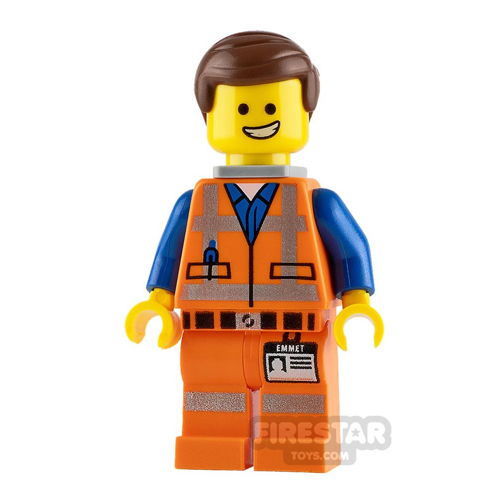 The LEGO Movie Minifigure Emmet Wide Smile