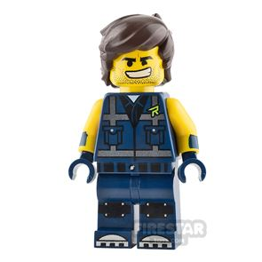 The LEGO Movie Minifigure Rex Dangervest Angry