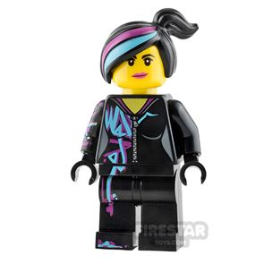 The LEGO Movie Minifigure Lucy Wyldstyle Smiling