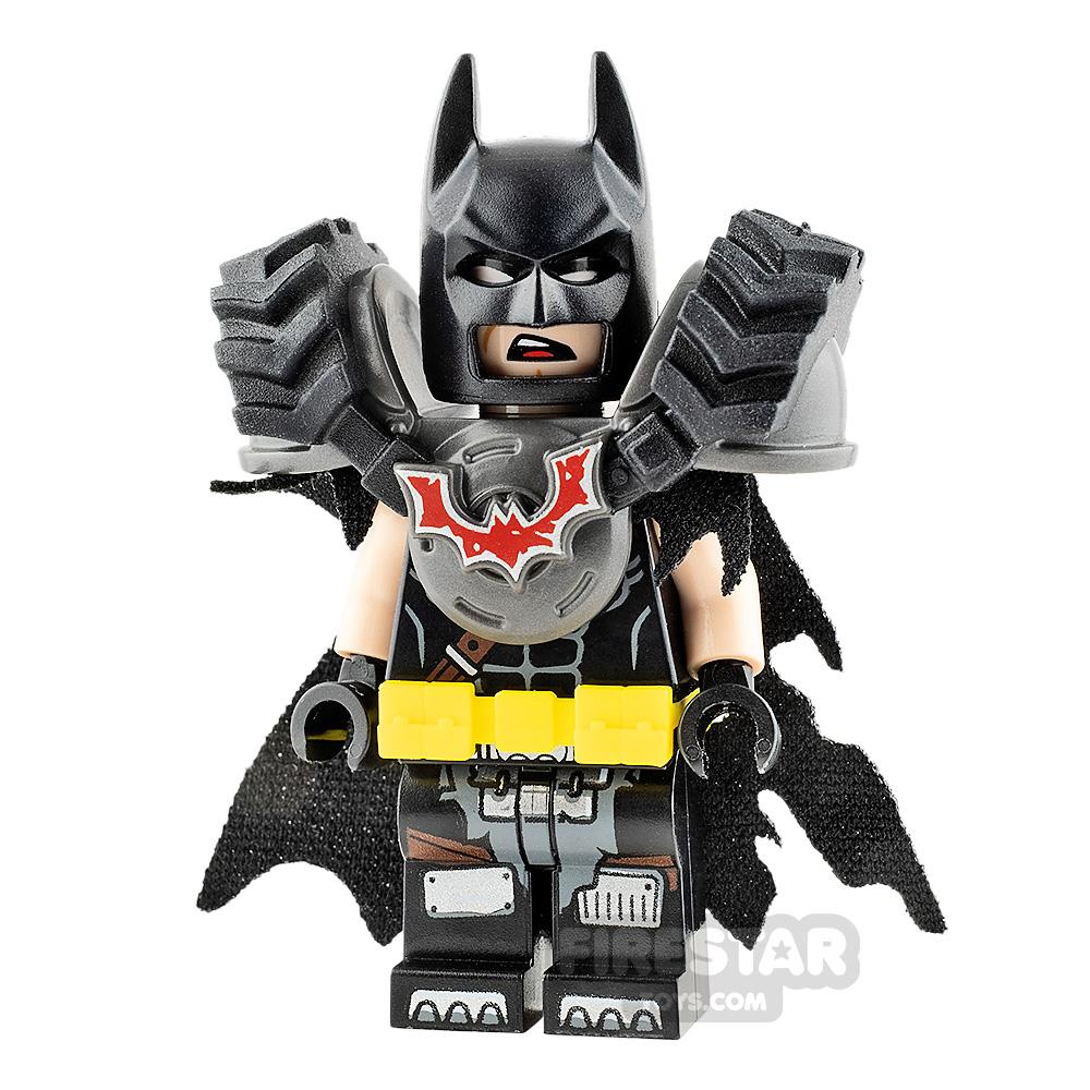 The LEGO Movie 2 Minifigure Battle Ready Batman