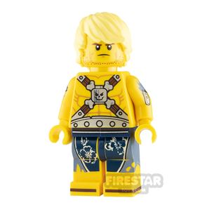 The LEGO Movie Minifigure Chainsaw Dave