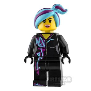 The LEGO Movie Minifigure Lucy Wyldstyle Smile and Cheerful