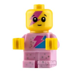 The LEGO Movie Minifigure Sparkle Baby Bright Pink