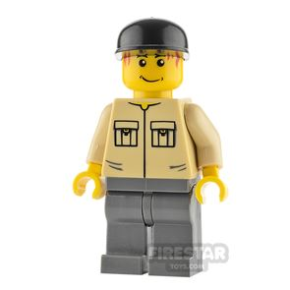 LEGO City Minifigure Shirt with Pockets