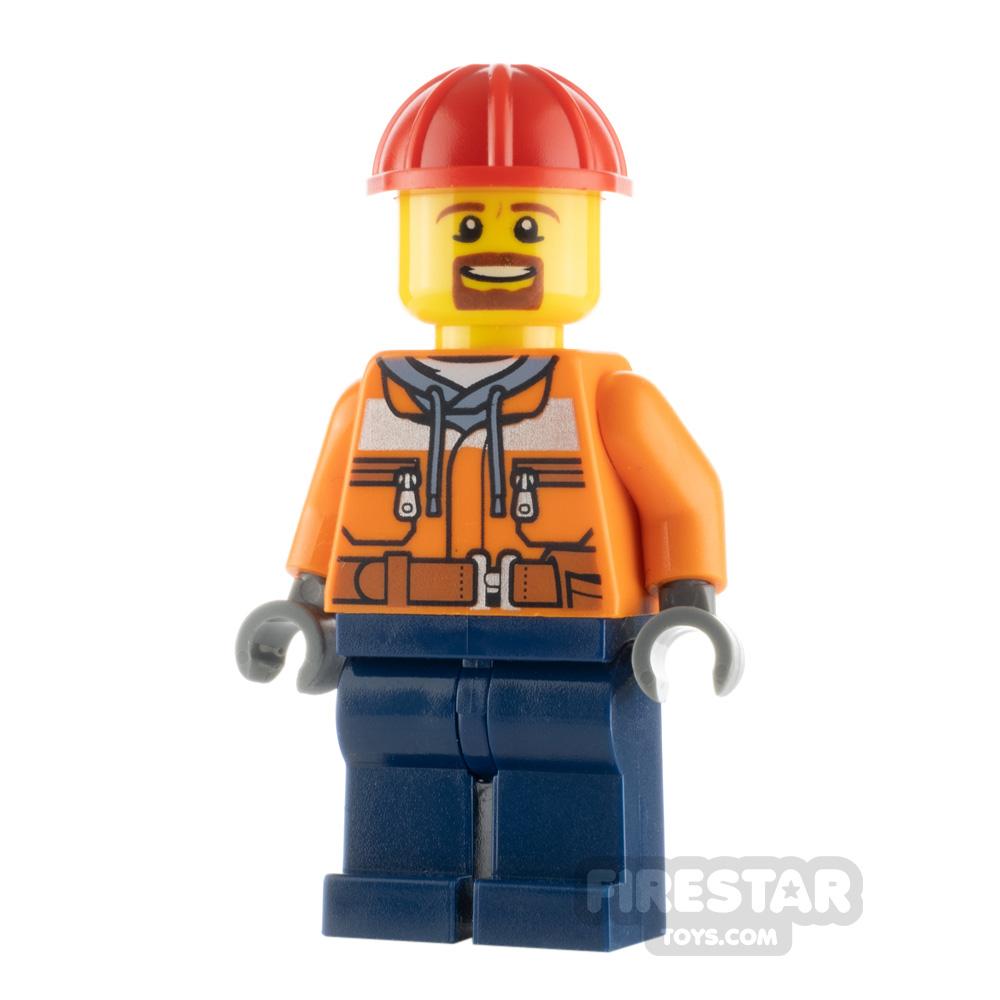 LEGO City Minifigure Forklift Driver