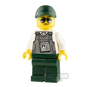 LEGO City Minifigure Security Officer with Body Armour