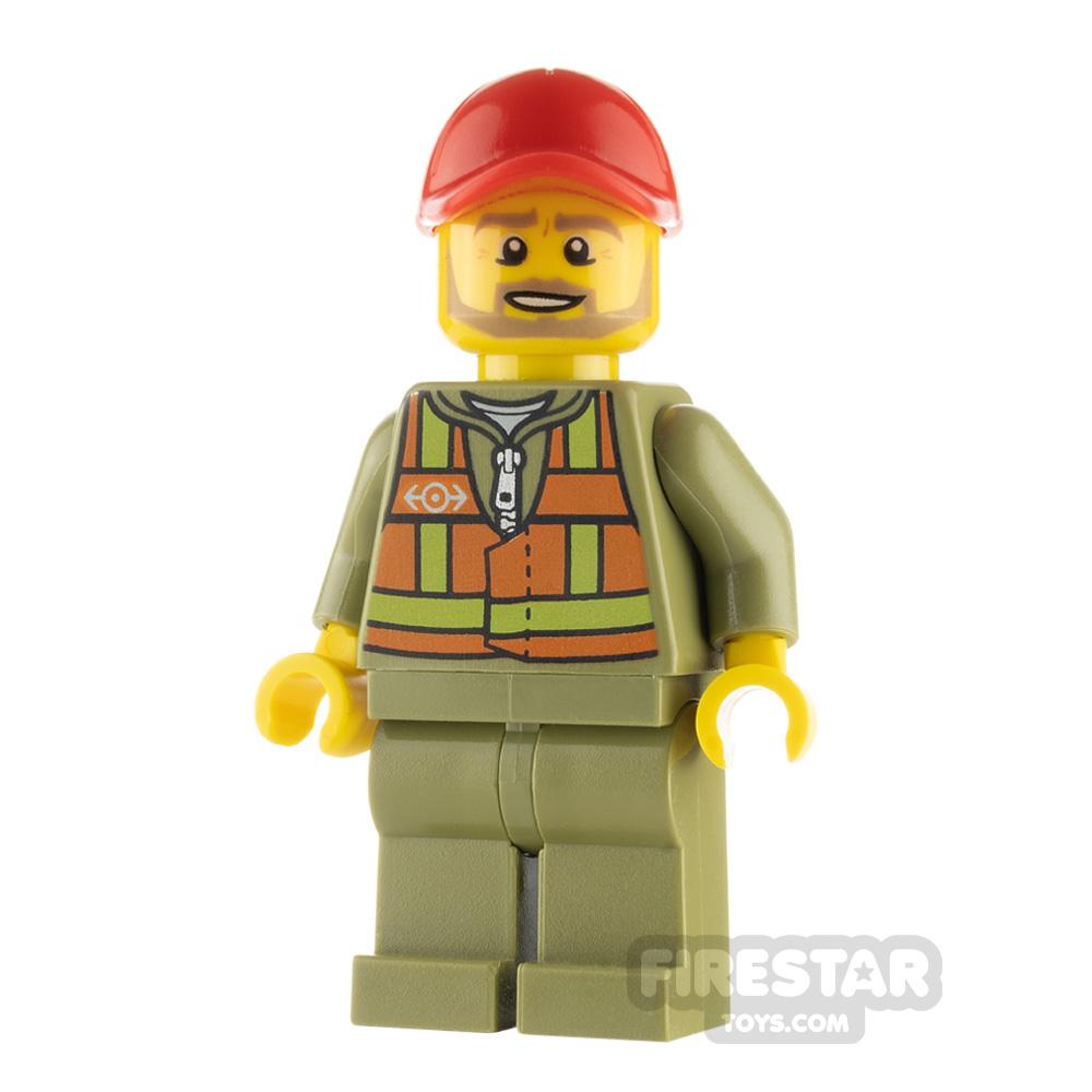 LEGO City Minifigure Train Driver