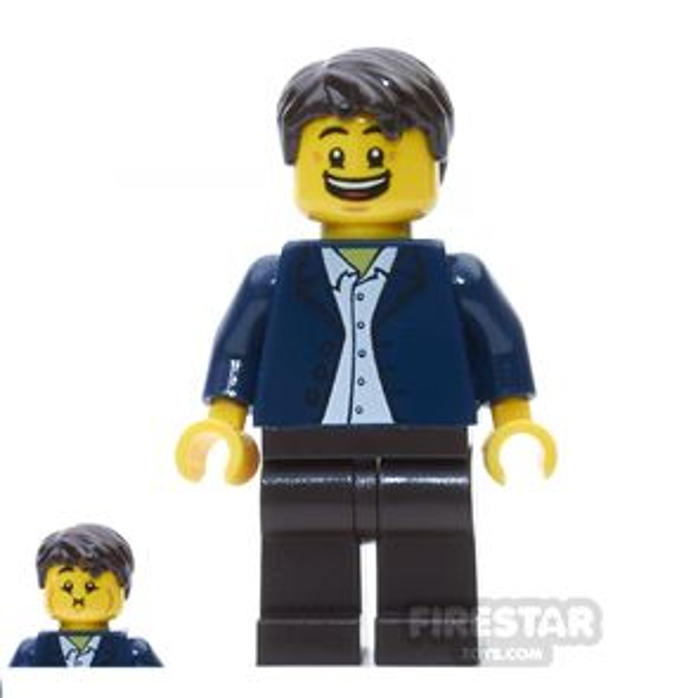 LEGO City Mini Figure - Queasy Man