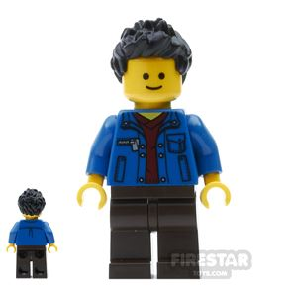 LEGO City Mini Figure - Dart Player
