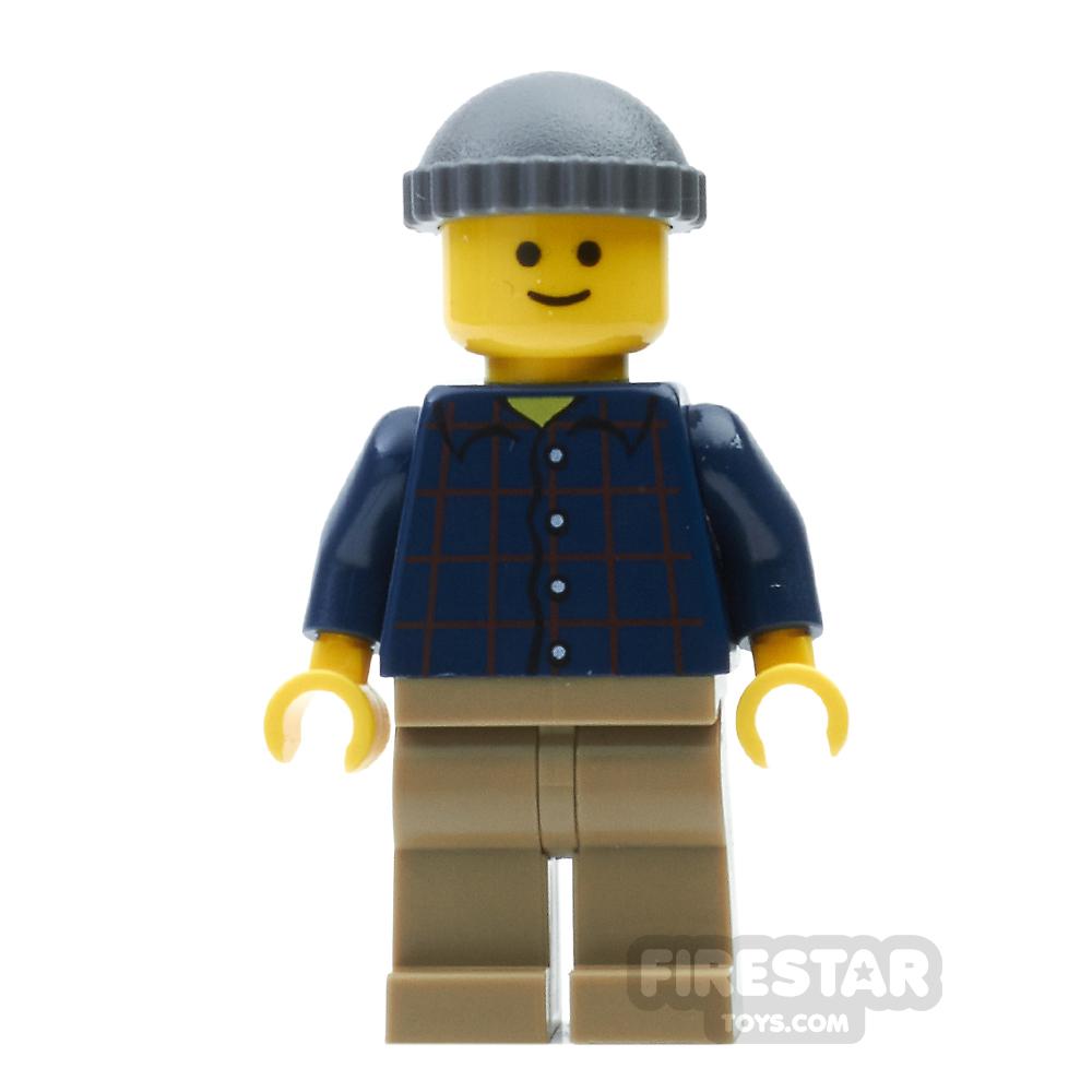 LEGO City Mini Figure - Pool Player