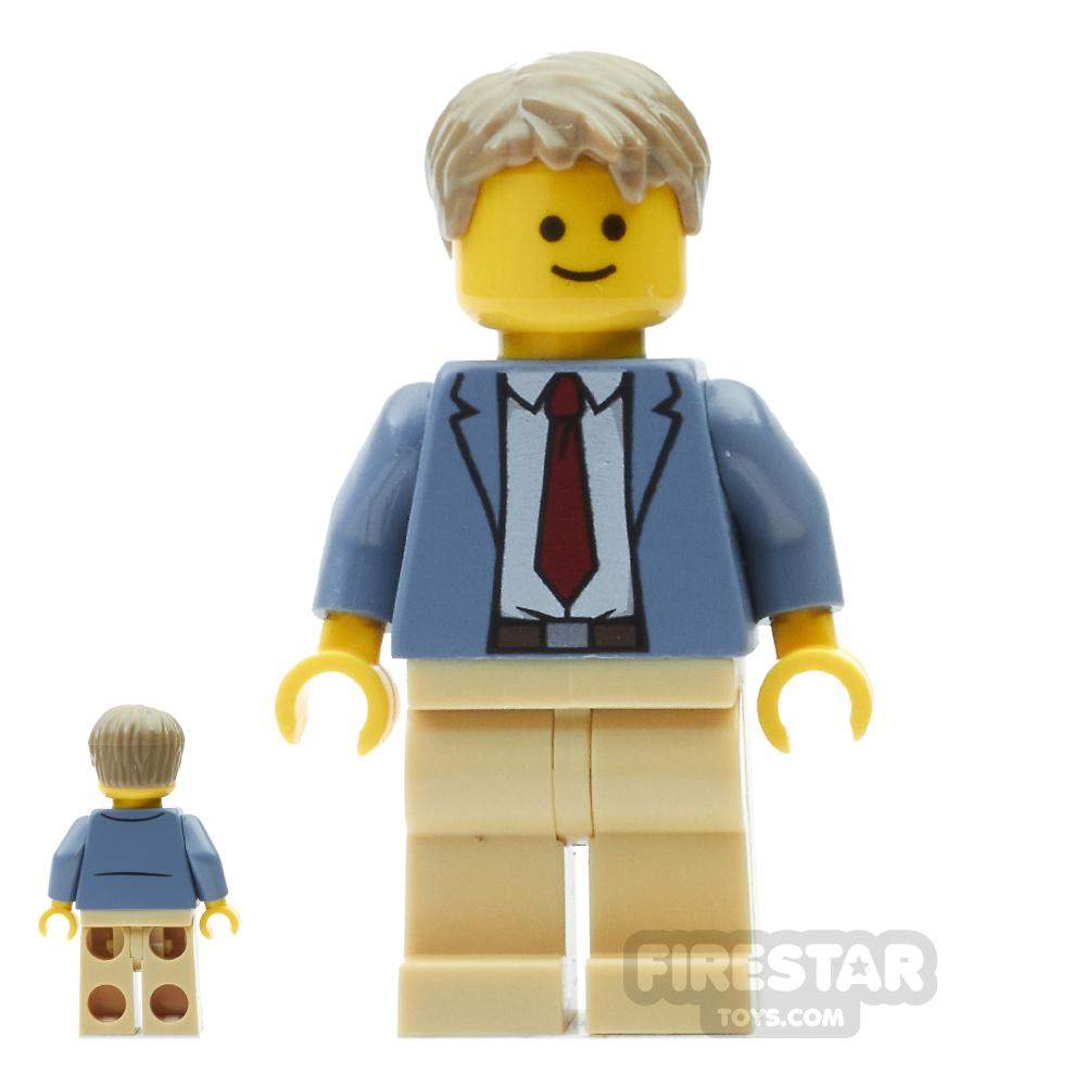 LEGO City Mini Figure - Detective Ace Brickman