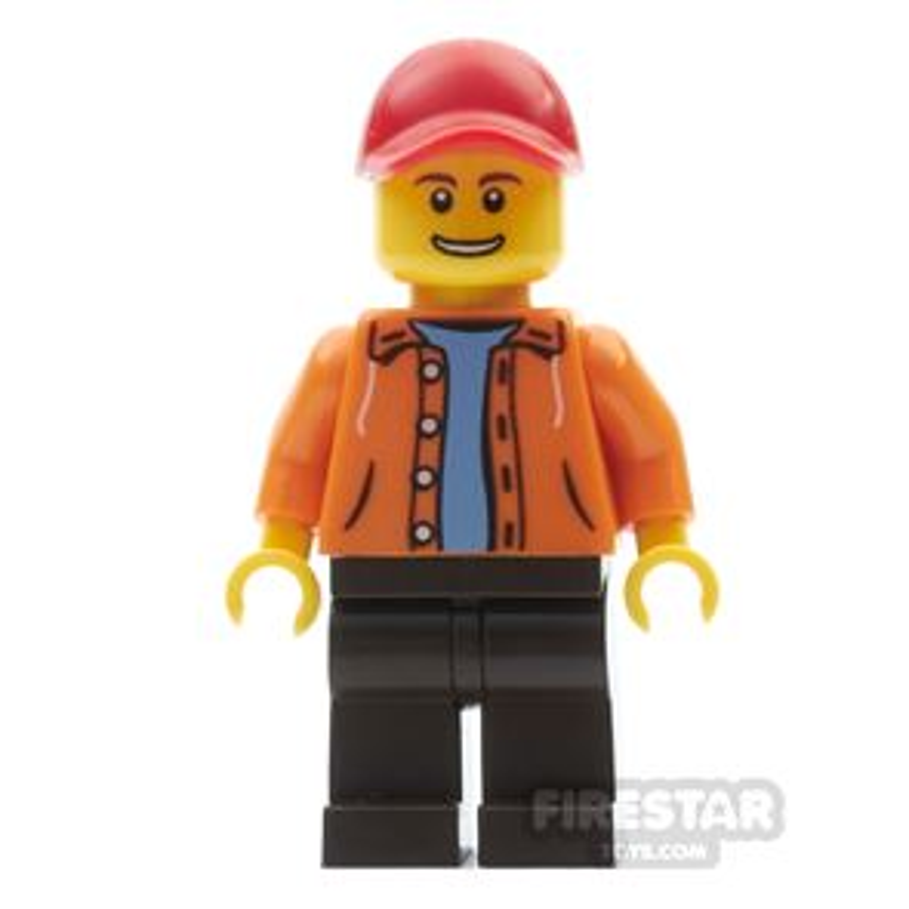 LEGO City Mini Figure - Ferris Wheel Operator