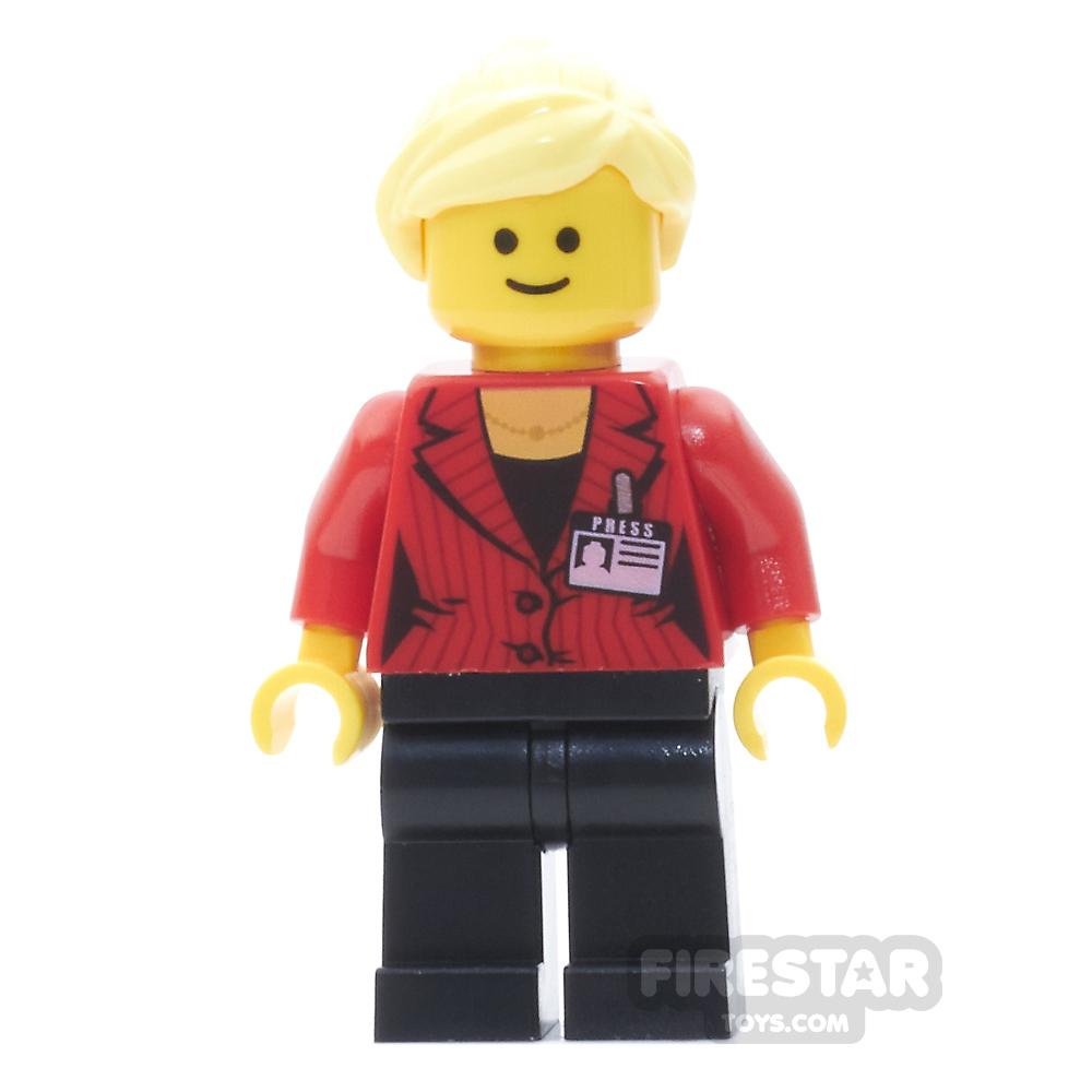 LEGO City Minifigure Press Reporter
