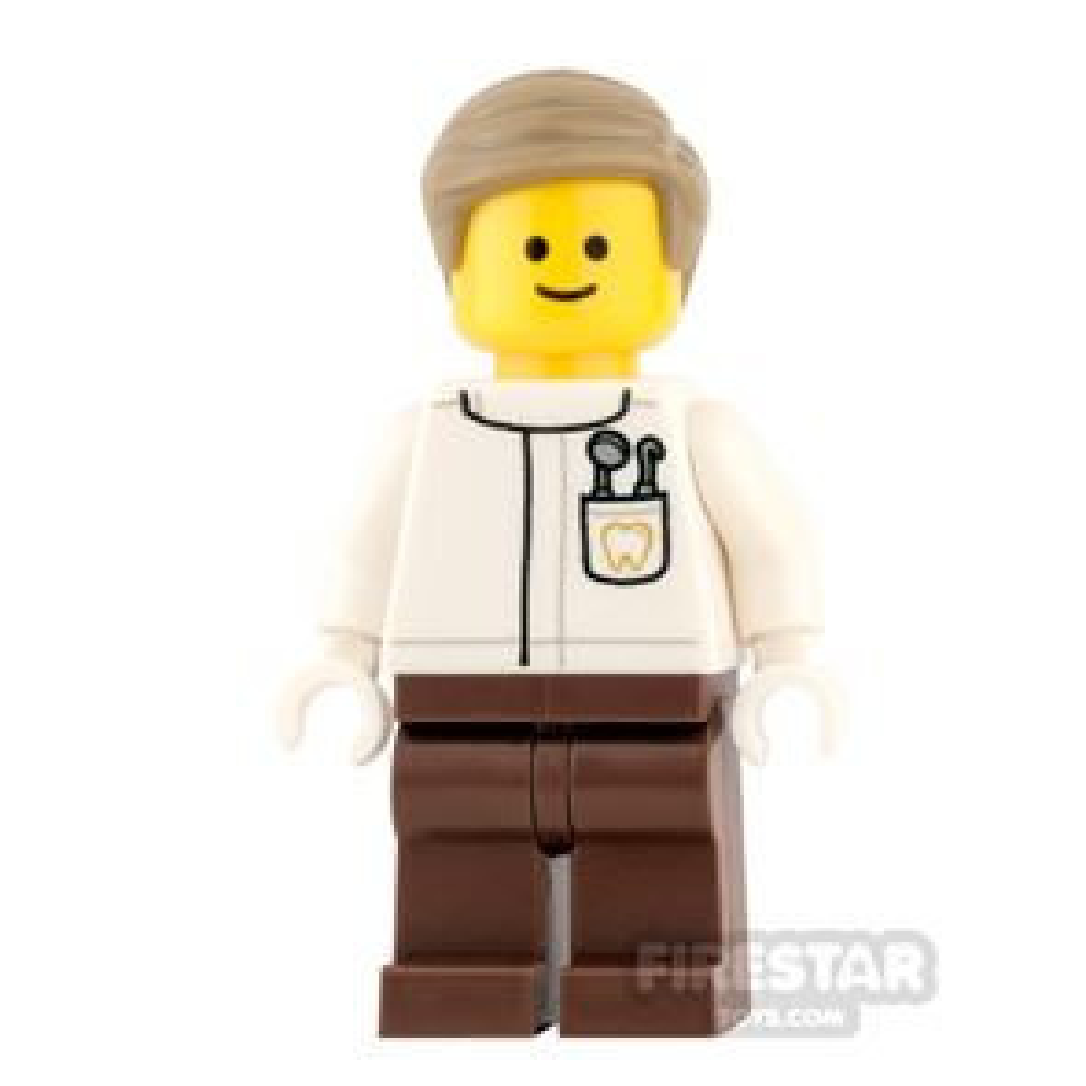 LEGO City Mini Figure - Dentist