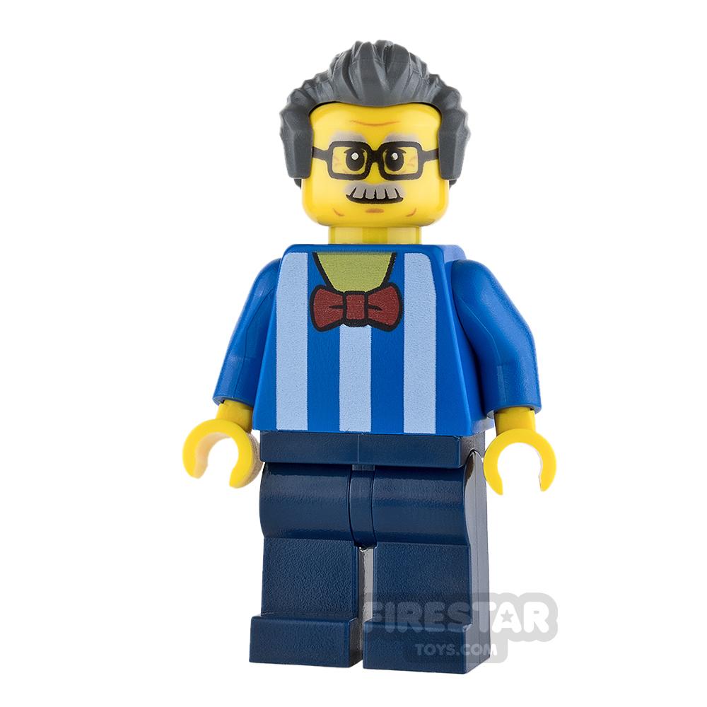 LEGO City Mini Figure - Carousel Ticket Vendor