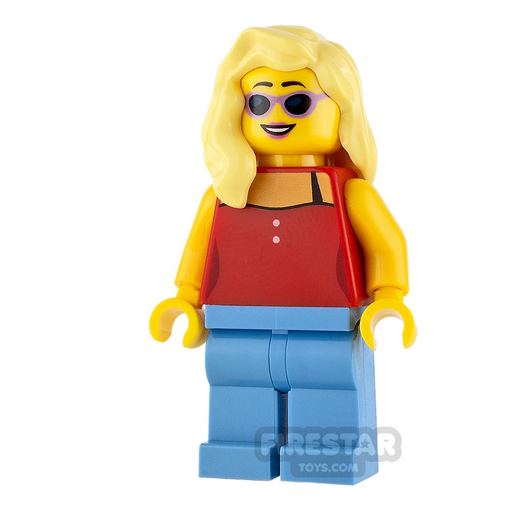 LEGO City Mini Figure - Surfer - Female