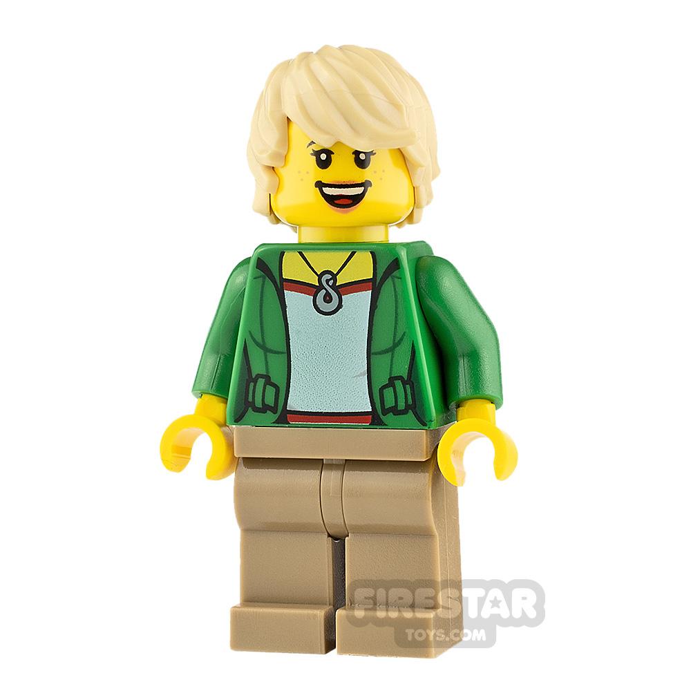 LEGO City Minifigure Cheerful Rider