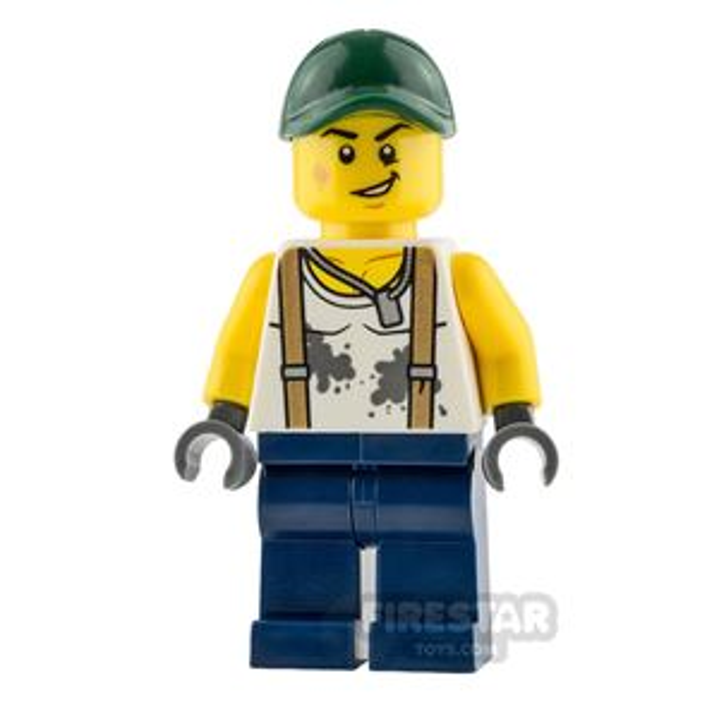 LEGO City Minifigure Mechanic