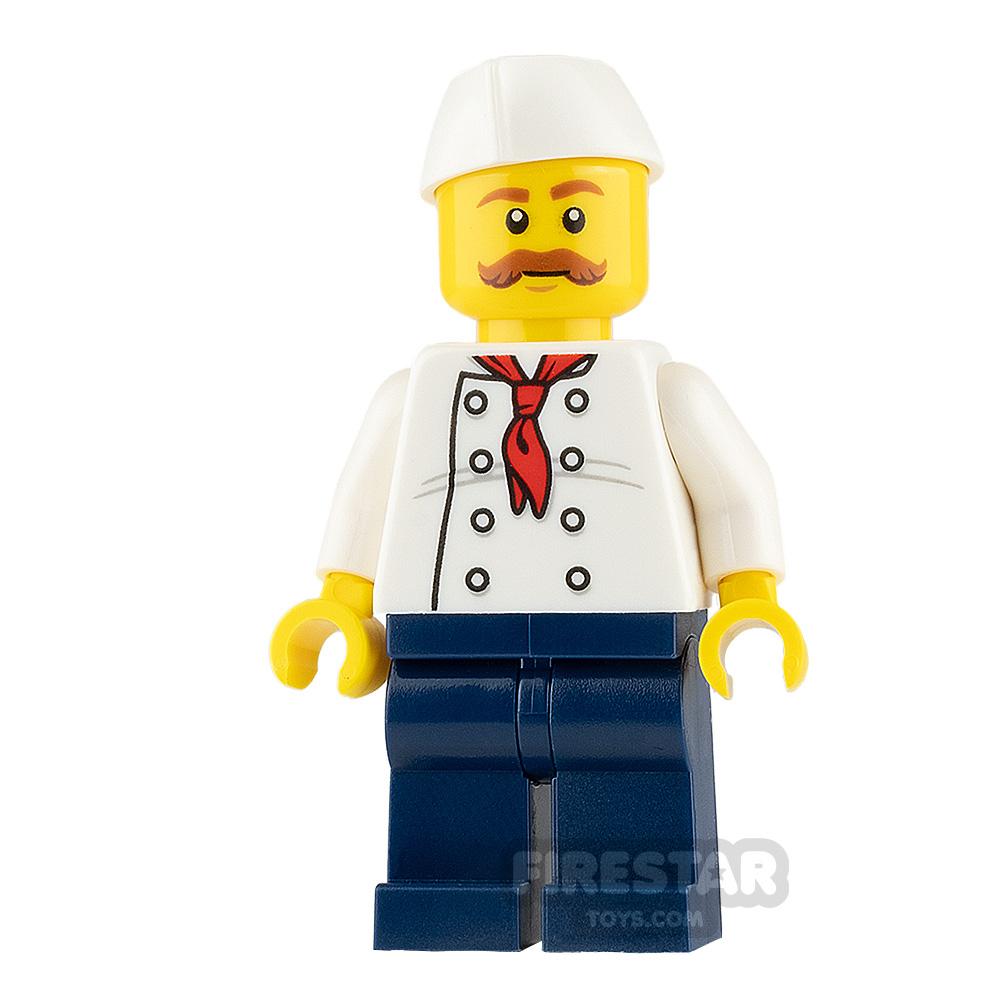 LEGO City Minifigure Confectioner with Moustache