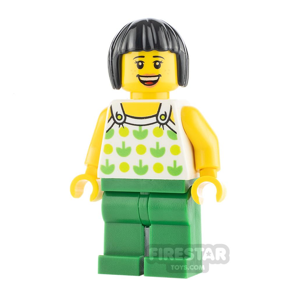 LEGO City Minifigure Apple Top