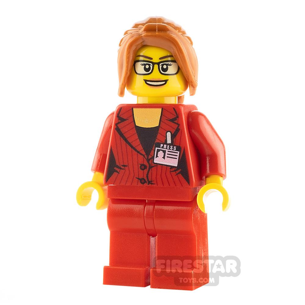 LEGO City Minifigure Red Blazer