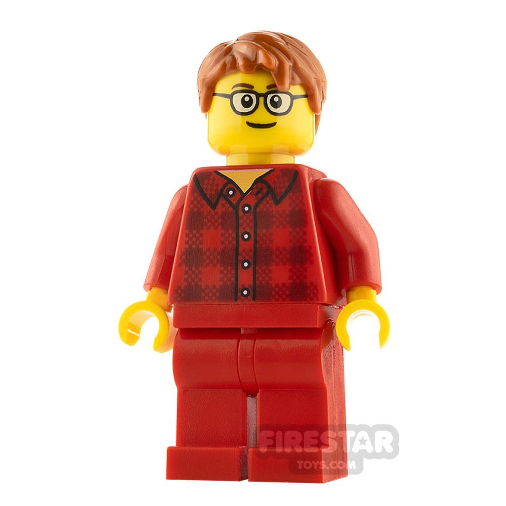 LEGO City Minifigure Flannel Shirt